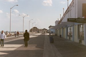 Asbury Park Boardwalk, outside the old Howard Johnson's