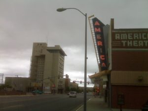 America Theatre. Downtown Casper